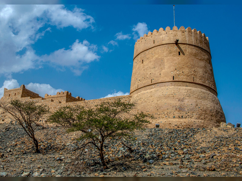 Saqamqam Fort in Fujairah.