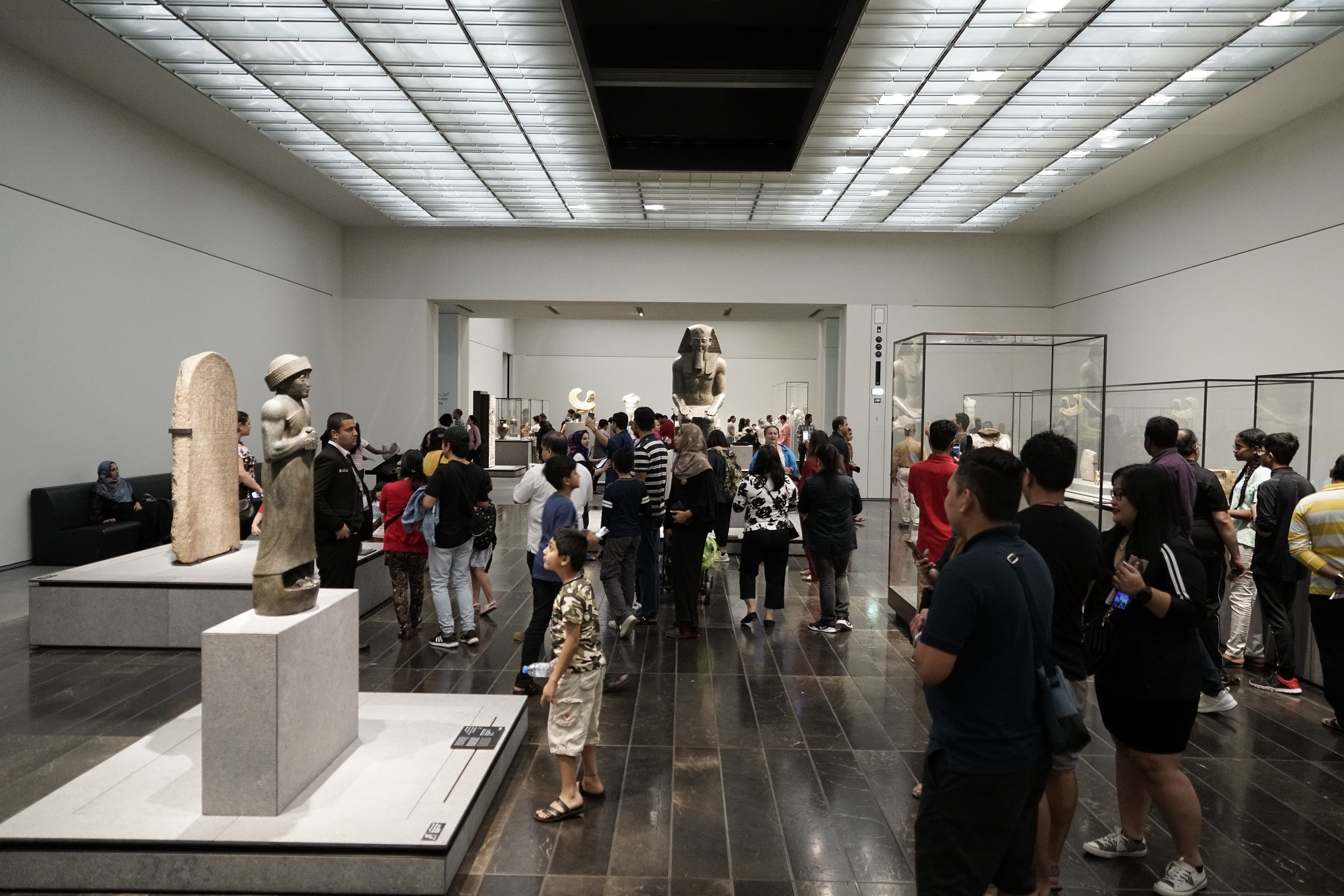 over 10,000 guests visit louvre abu dhabi on international museum day 2