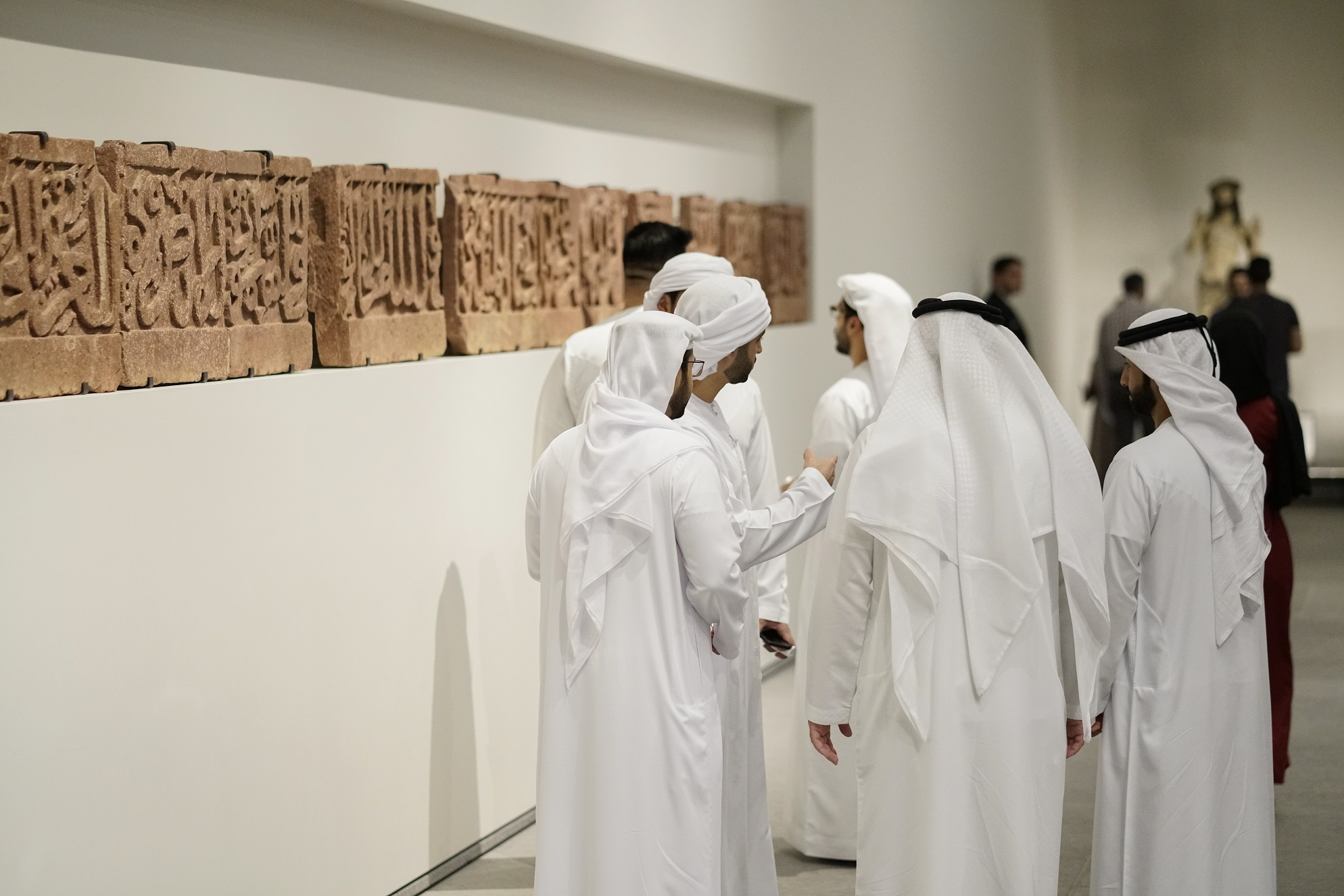 over 10,000 guests visit louvre abu dhabi on international museum day 1