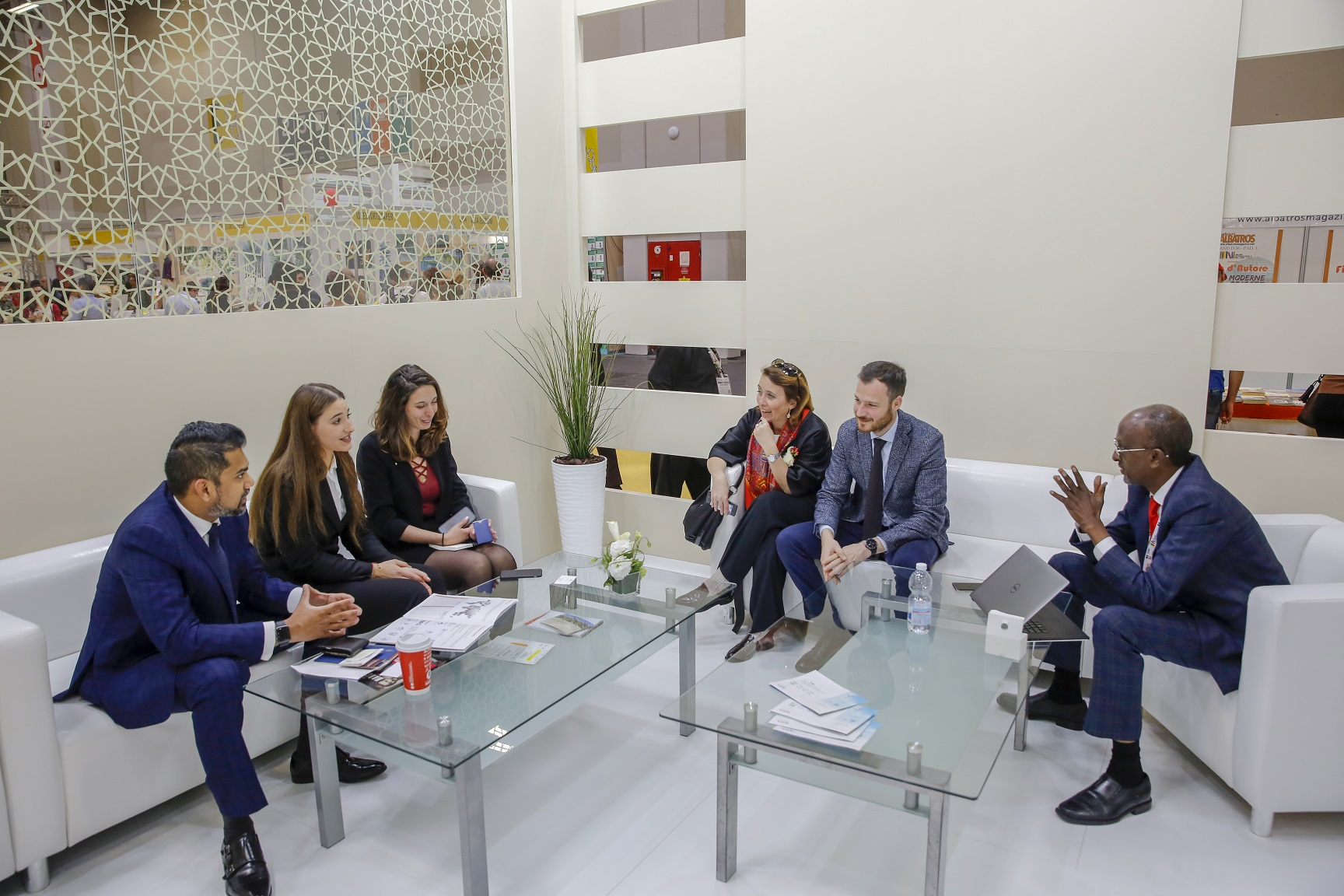 spcfz, italian publishers hold discussions at turin international book fair 2.jfif
