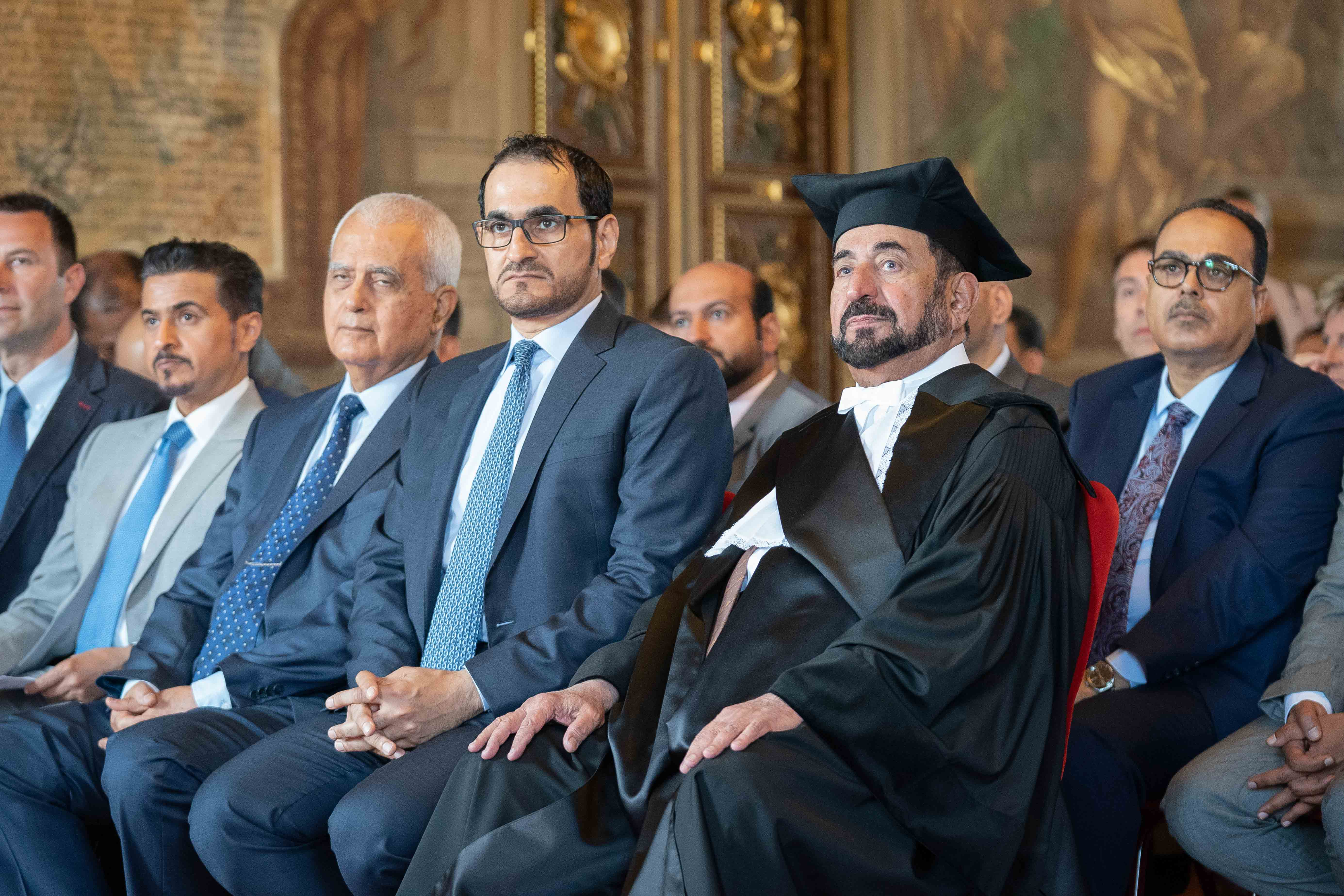 ruler of sharjah receives honorary doctorate from leading turin universities  1