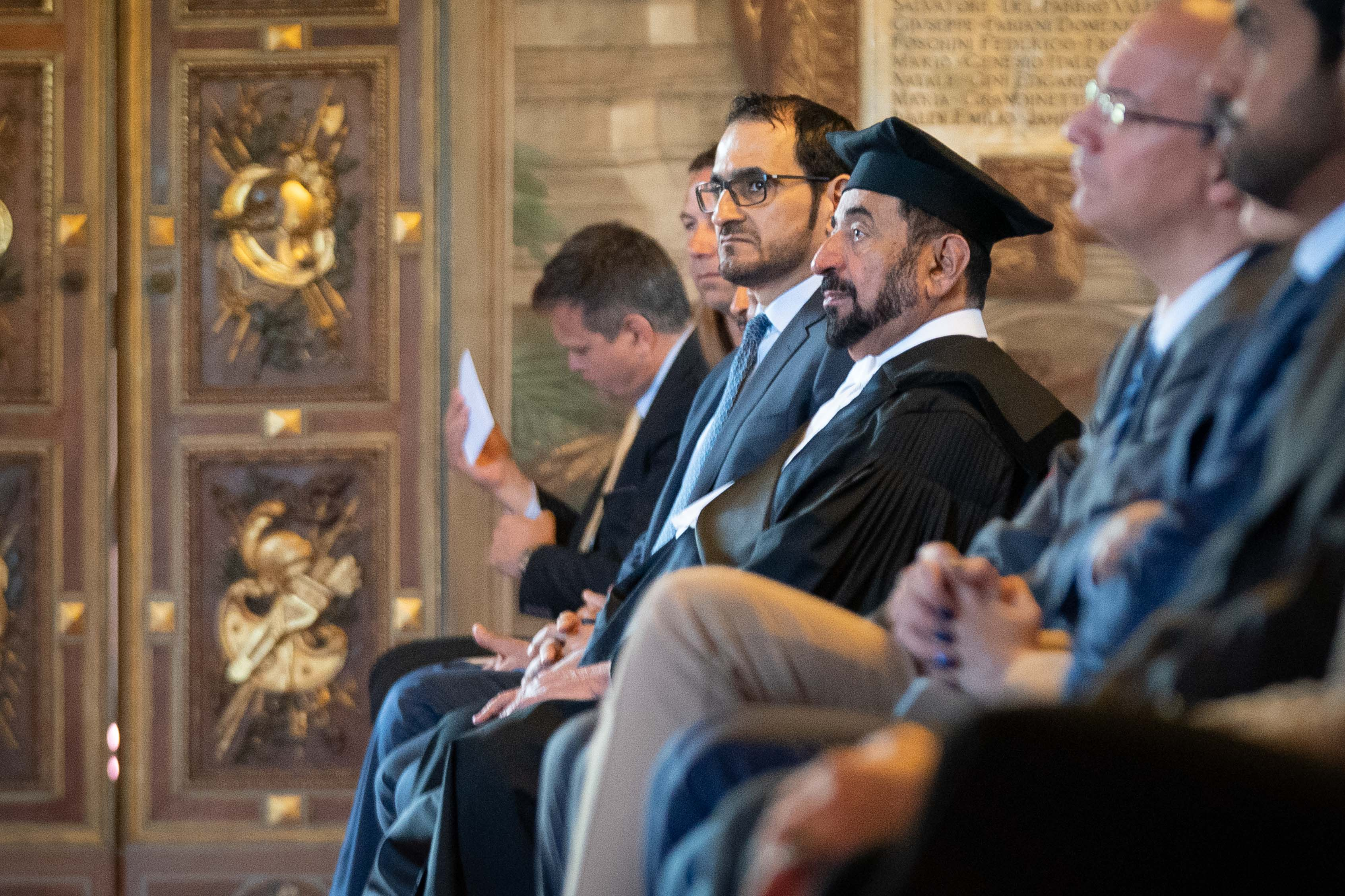 ruler of sharjah receives honorary doctorate from leading turin universities  4