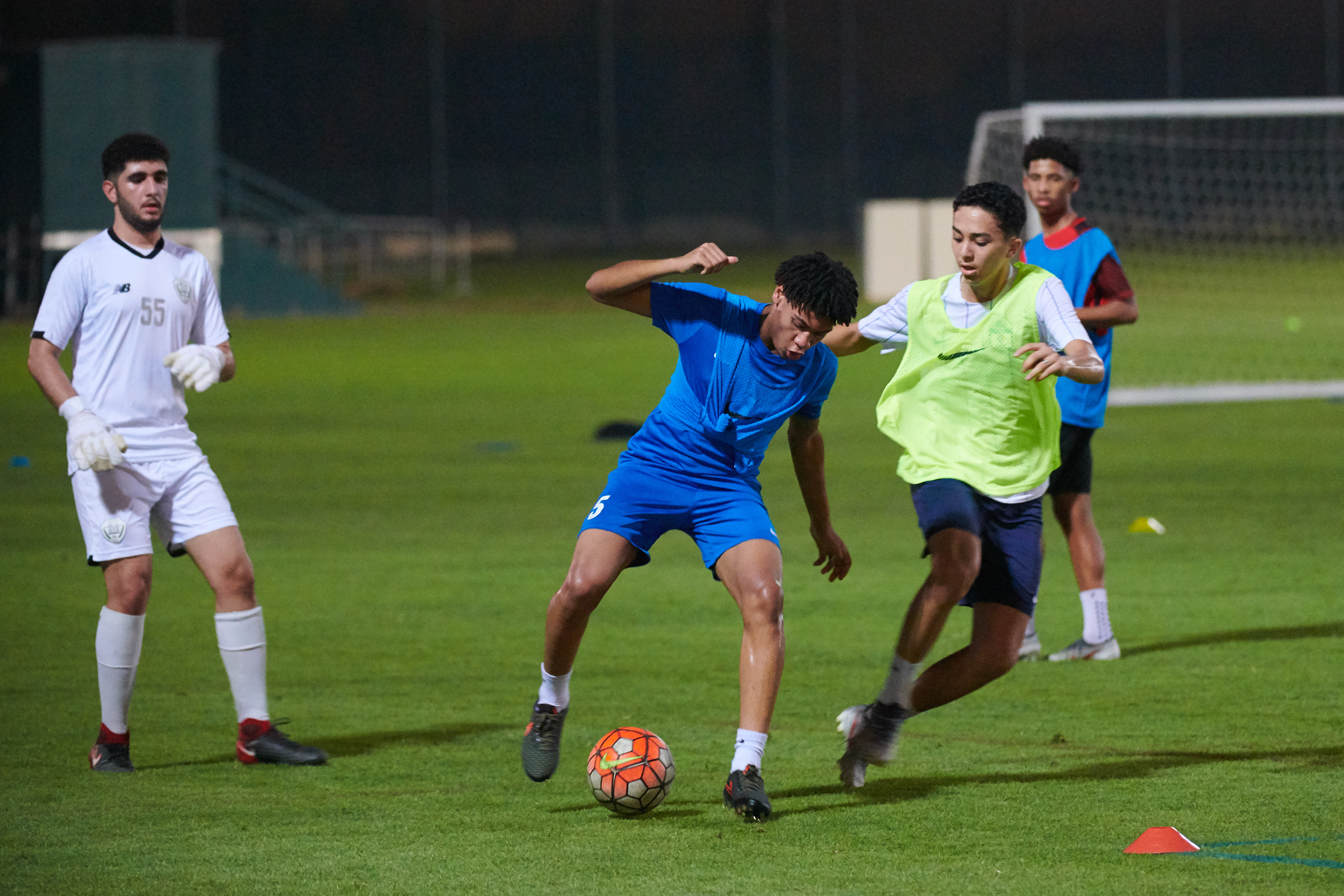 eight top football talents from dubai clubs selected for training camp in spain 2