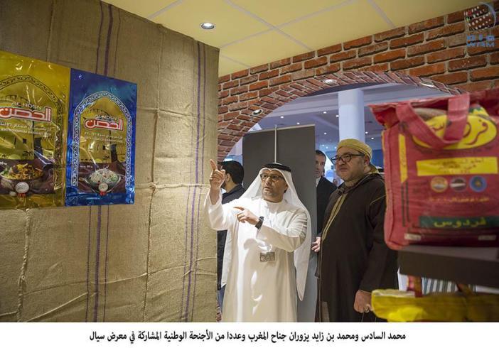 Emirates News Agency - King Mohammed VI and Mohamed bin