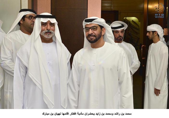 Emirates News Agency Vp Mohamed Bin Zayed Attend Iftar Banquet Hosted By Nahyan Bin Mubarak