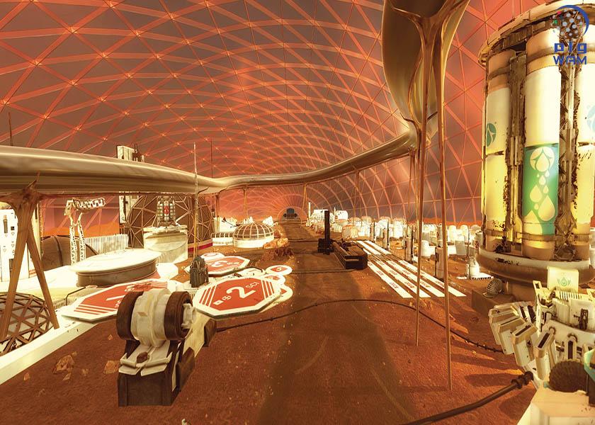 محمد بن راشد ومحمد بن زايد يعلنان عن مشروع المريخ 2117 لإيصال البشر للكوكب الأحمر 4