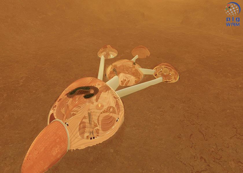 محمد بن راشد ومحمد بن زايد يعلنان عن مشروع المريخ 2117 لإيصال البشر للكوكب الأحمر 1