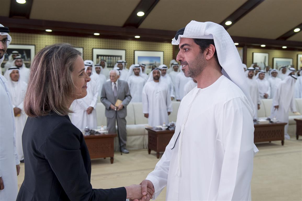 """مجلس محمد بن زايد يستضيف محاضرة بعنوان """" تحليل أساليب التفكير والقيادة """" 1"""