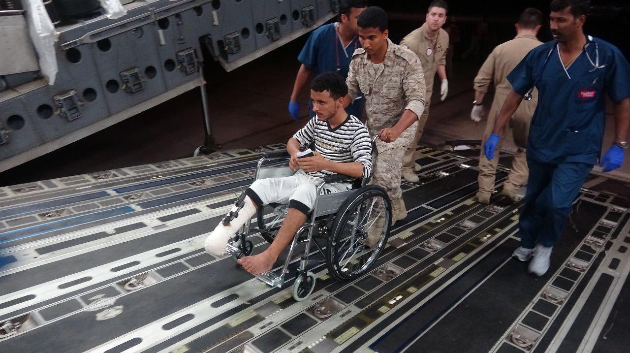 بتوجيهات رئيس الدولة ومحمد بن زايد .. الإمارات تتكفل بعلاج / 53 / جريحا يمنيا في المستشفيات الهندية 4