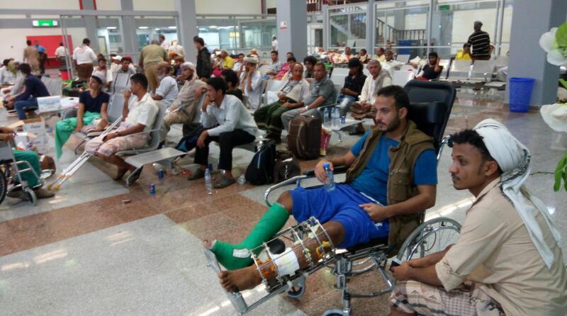بتوجيهات رئيس الدولة ومحمد بن زايد .. الإمارات تتكفل بعلاج / 53 / جريحا يمنيا في المستشفيات الهندية 3