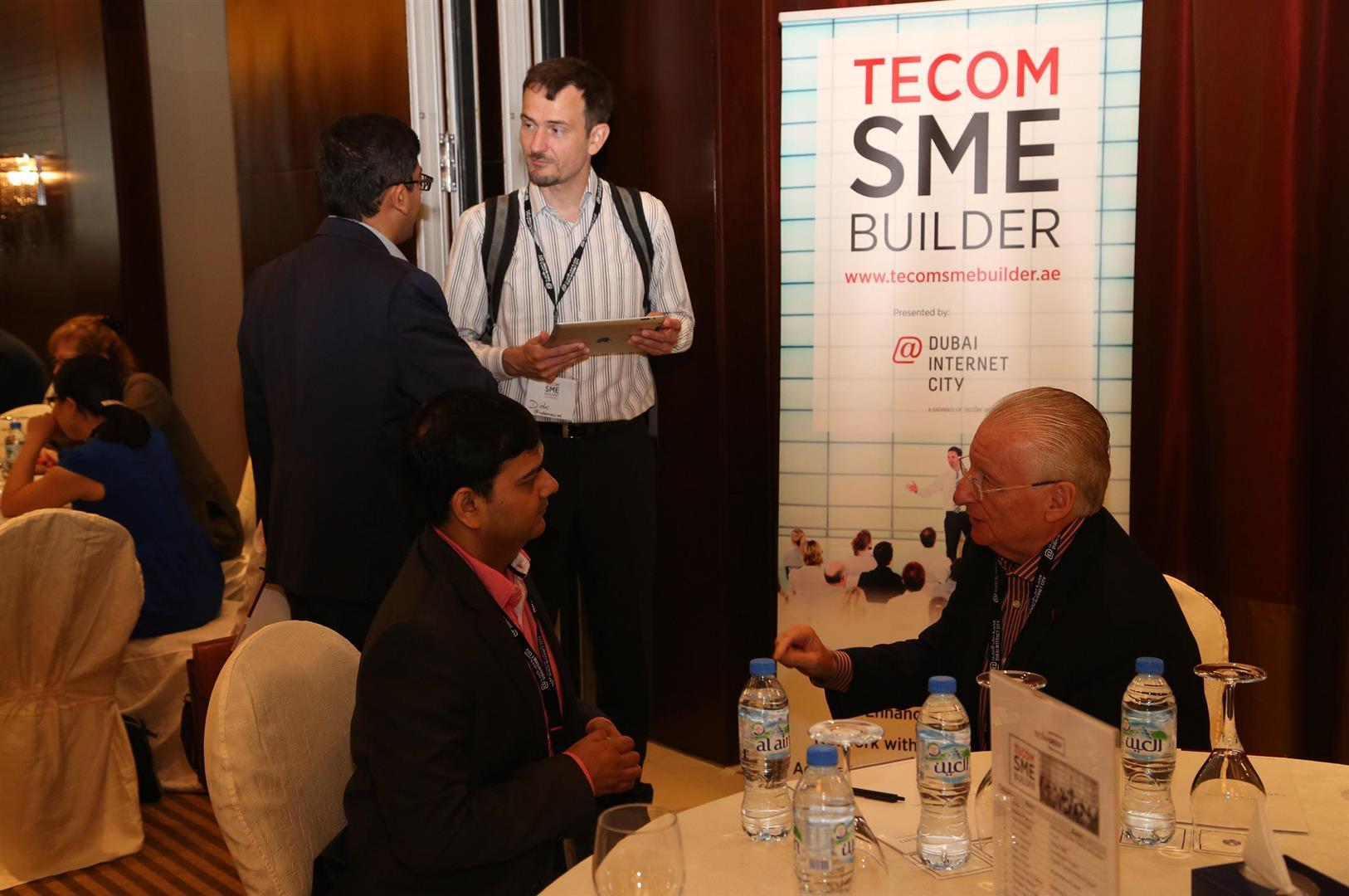 """مدينة دبي للإنترنت تستضيف النسخة الـ20 من """"ملتقى تيكوم لدعم المشاريع الصغيرة والمتوسطة"""". 3"""