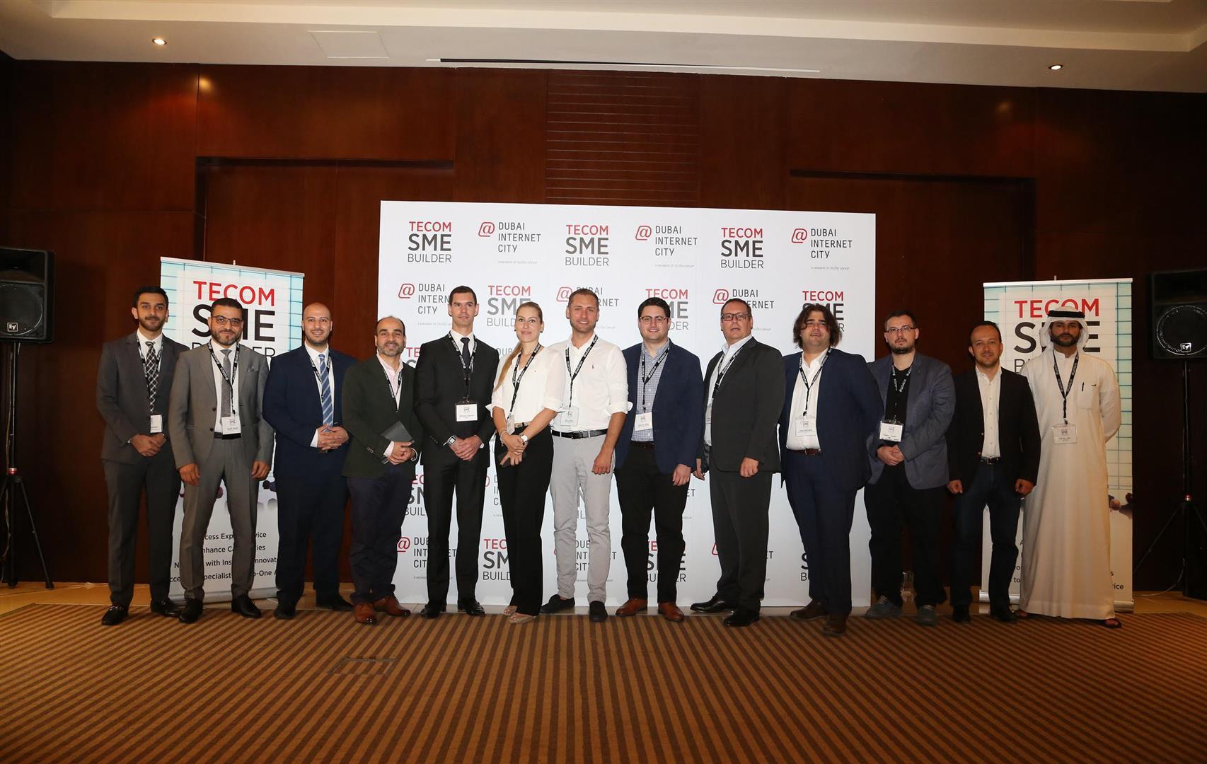 """مدينة دبي للإنترنت تستضيف النسخة الـ20 من """"ملتقى تيكوم لدعم المشاريع الصغيرة والمتوسطة"""". 1"""