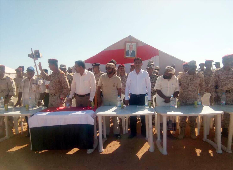 الاحتفال بتخريج دورة عسكرية في جزيرة سوقطرى اليمنية تحت إشراف وتدريب دولة الامارات . 1