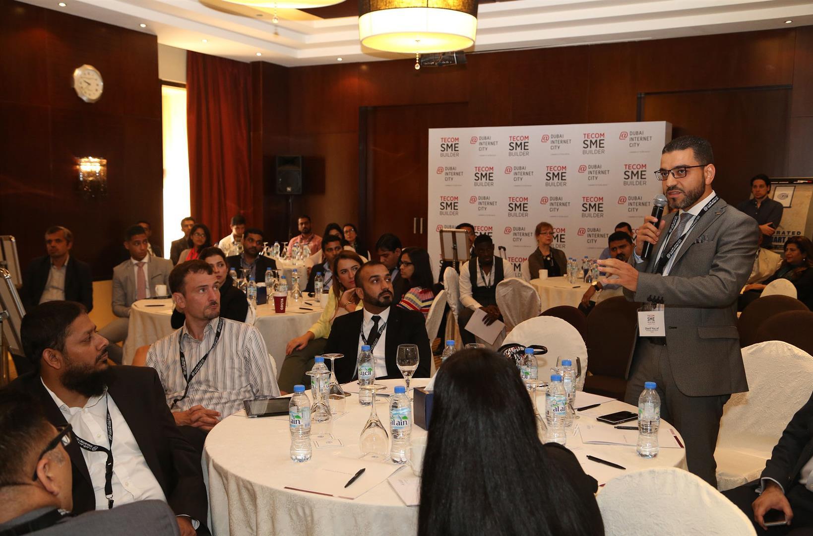 """مدينة دبي للإنترنت تستضيف النسخة الـ20 من """"ملتقى تيكوم لدعم المشاريع الصغيرة والمتوسطة"""". 2"""
