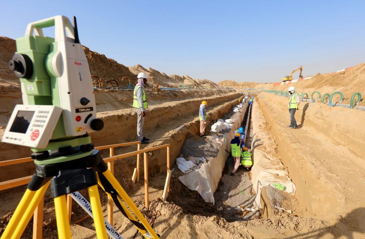 مساندة تنفذ اربعة مشاريع بنية تحتية في أبوظبي بقيمة 650 مليون درهم. 1