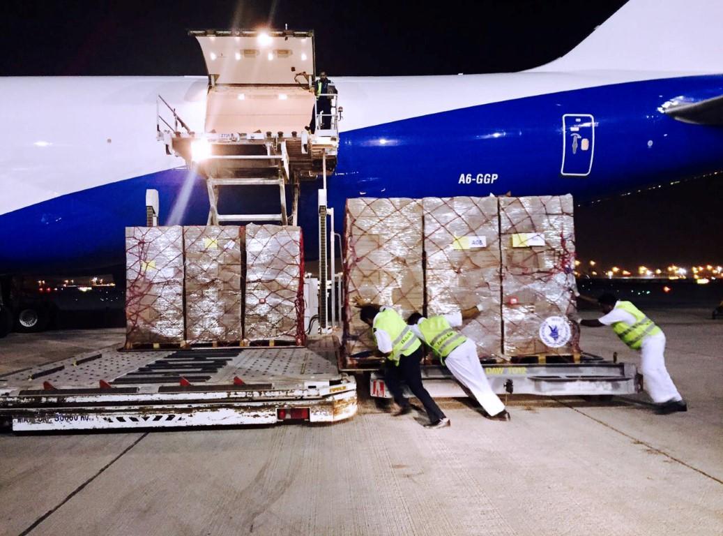 محمد بن راشد يأمر بإرسال شحنة إغاثة عاجلة إلى هايتي تحسبا لإعصار إرما 1