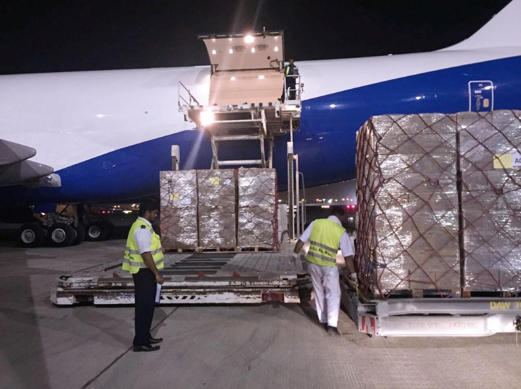 محمد بن راشد يأمر بإرسال شحنة إغاثة عاجلة إلى هايتي تحسبا لإعصار إرما 4