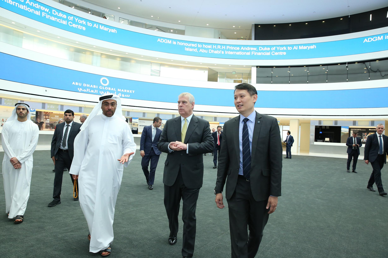 hrh duke of york visits abu dhabi global market 4