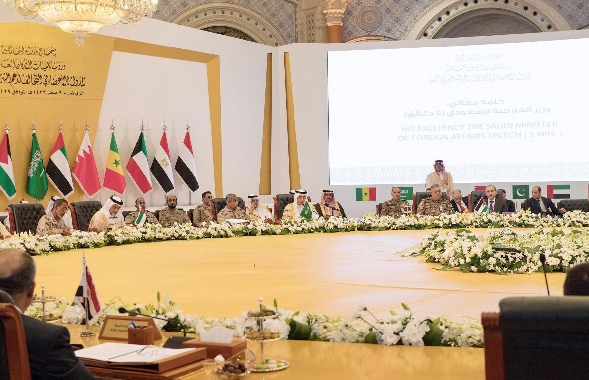 عبدالله بن زايد يترأس وفد الدولة في اجتماع الدول الأعضاء في تحالف دعم الشرعية باليمن 3