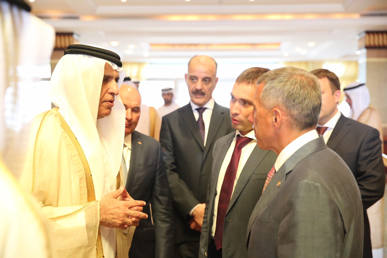 حاكم رأس الخيمة يستقبل رئيس جمهورية تتارستان 1