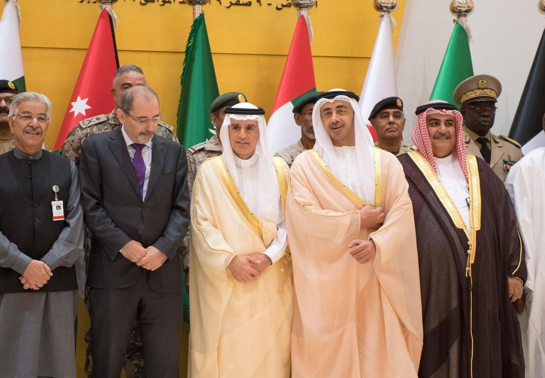 عبدالله بن زايد يترأس وفد الدولة في اجتماع الدول الأعضاء في تحالف دعم الشرعية باليمن 1