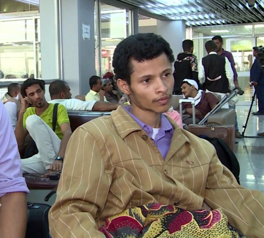 88 جريحا يمنيا يغادرون عدن لتلقي العلاج في المستشفيات الهندية  بإشراف الهلال الأحمر /3/