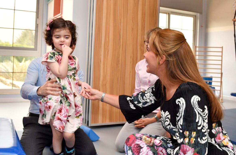 """هيا بنت الحسين تفتتح مركز """"هاي هوبس"""" لتأهيل الأطفال 3"""