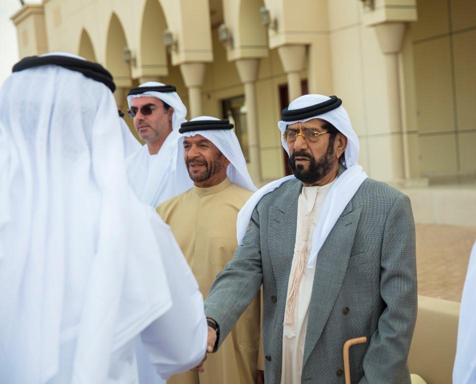 Emirates News Agency Tahnoun Bin Mohammed Receive Mourners On Death Of Sheikha Hessa Bint Mohammed