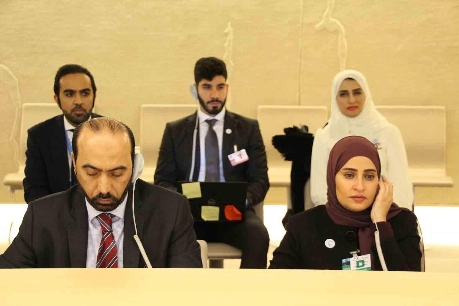 الإمارات تقدم تقريرها الوطني الثالث في إطار الاستعراض الدوري الشامل لحقوق الإنسان في جنيف 1