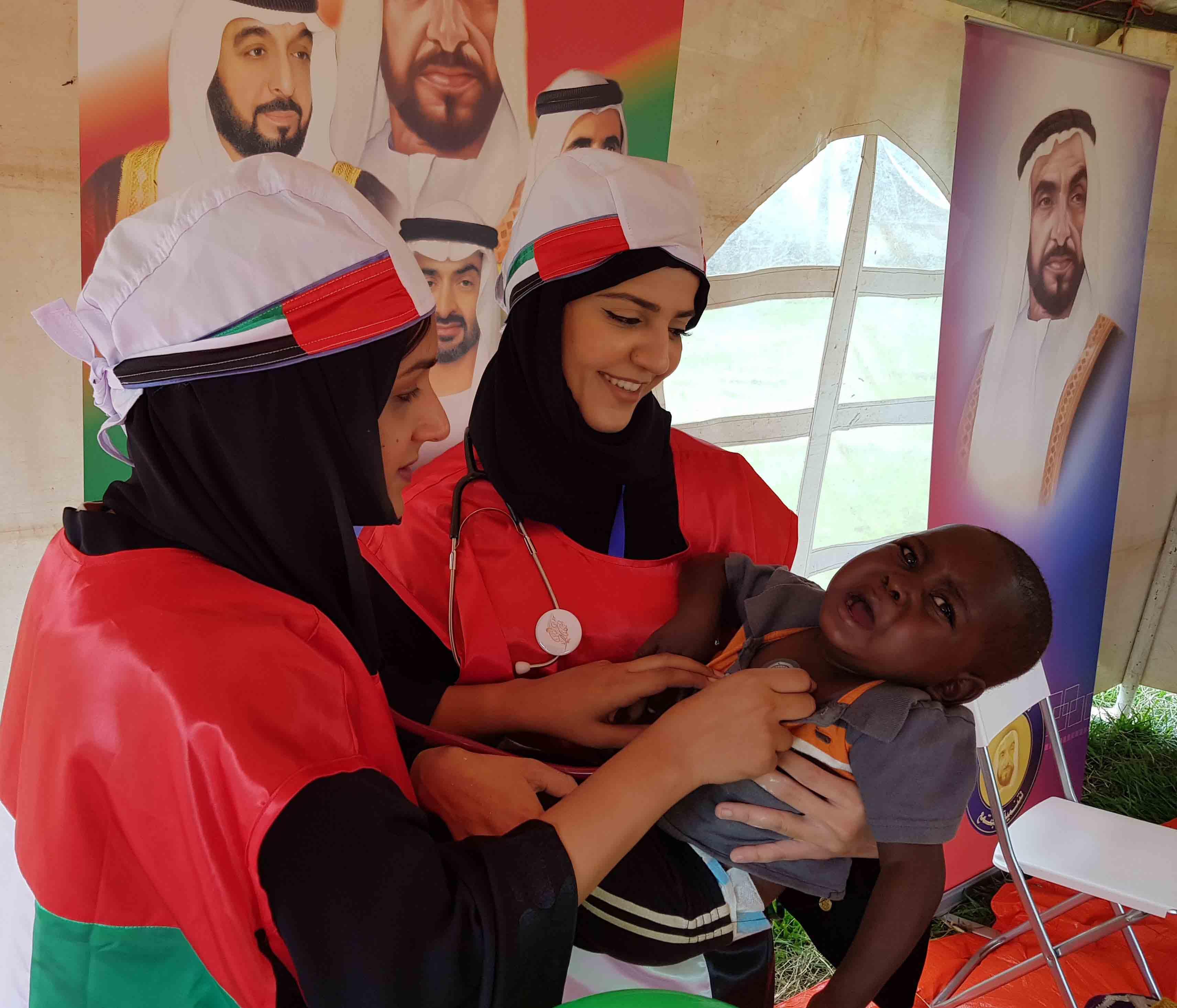 اطباء الامارات يطلقون حملة مليون ساعة عطاء محليا وعالميا 1