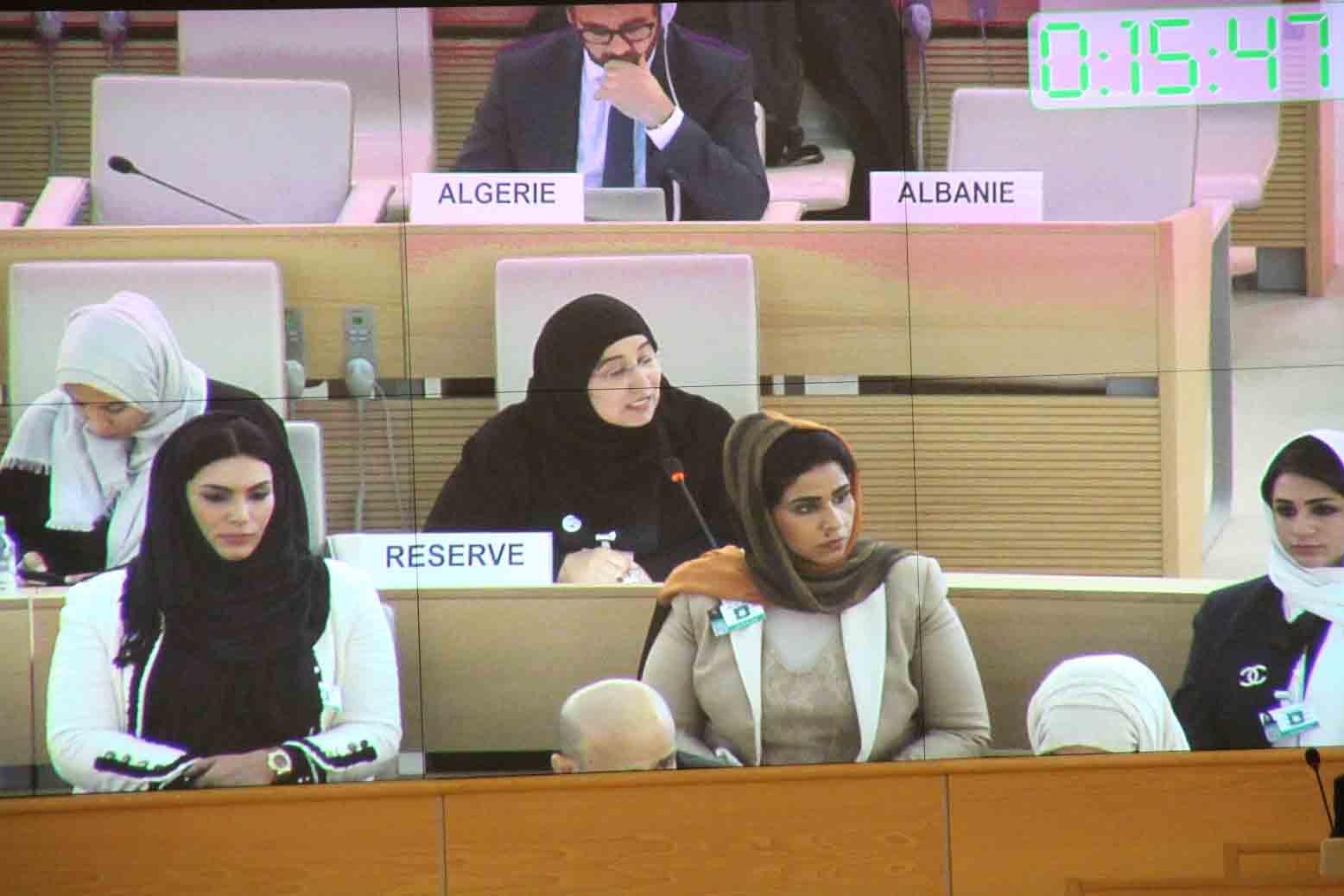 الإمارات تقدم تقريرها الوطني الثالث في إطار الاستعراض الدوري الشامل لحقوق الإنسان في جنيف 5