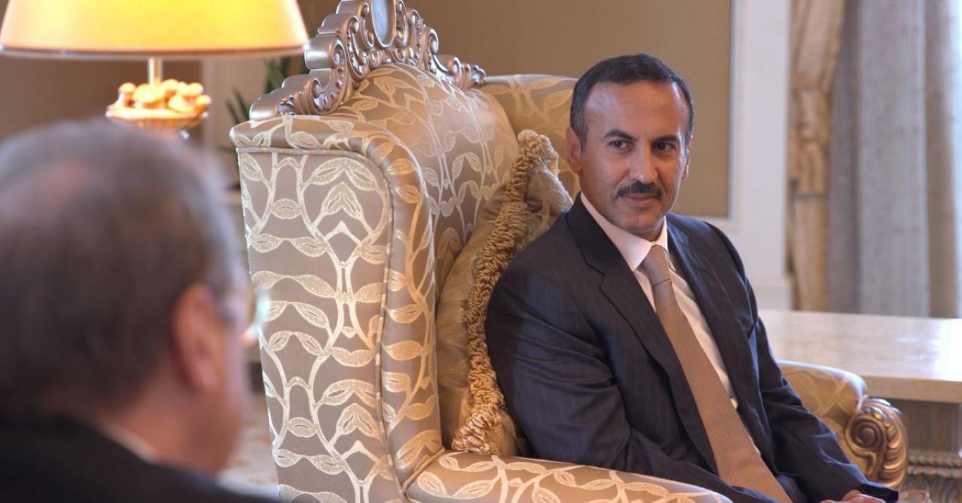 أحمد علي عبدالله صالح يلتقي نائب وزير الخارجية الروسي 3