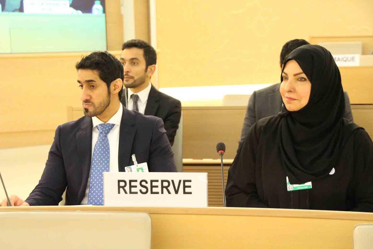 الإمارات تقدم تقريرها الوطني الثالث في إطار الاستعراض الدوري الشامل لحقوق الإنسان في جنيف 4