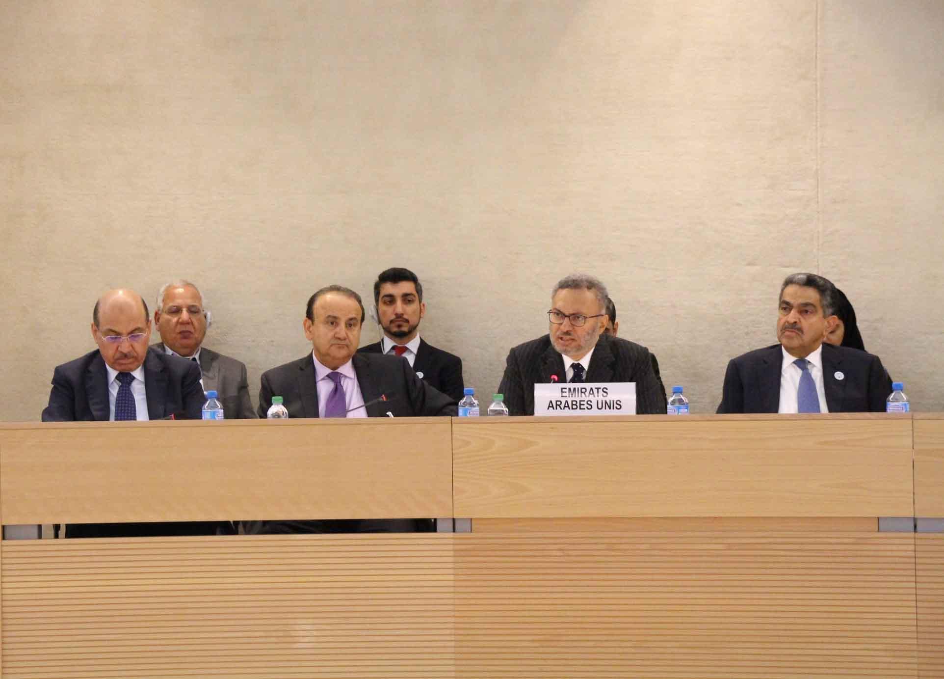 الإمارات تقدم تقريرها الوطني الثالث في إطار الاستعراض الدوري الشامل لحقوق الإنسان في جنيف 2