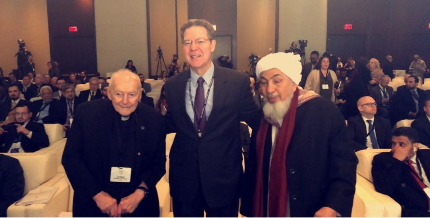 مؤتمر واشنطن لتحالف الأديان يواصل فعالياته بمشاركة رجال دين  وعلماء وأكاديميين من العالم. 2