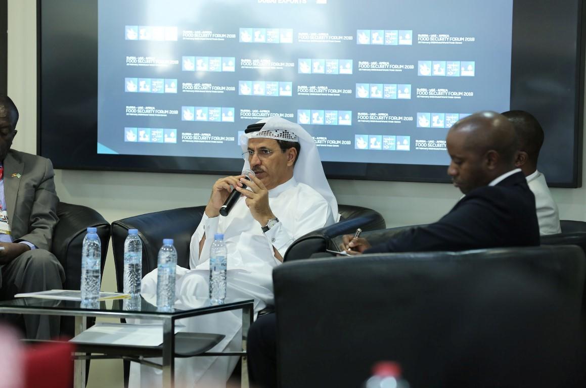 """المنصوري يشارك في """"منتدى الأمن الغذائي الروسي الإماراتي الأفريقي"""".  2"""