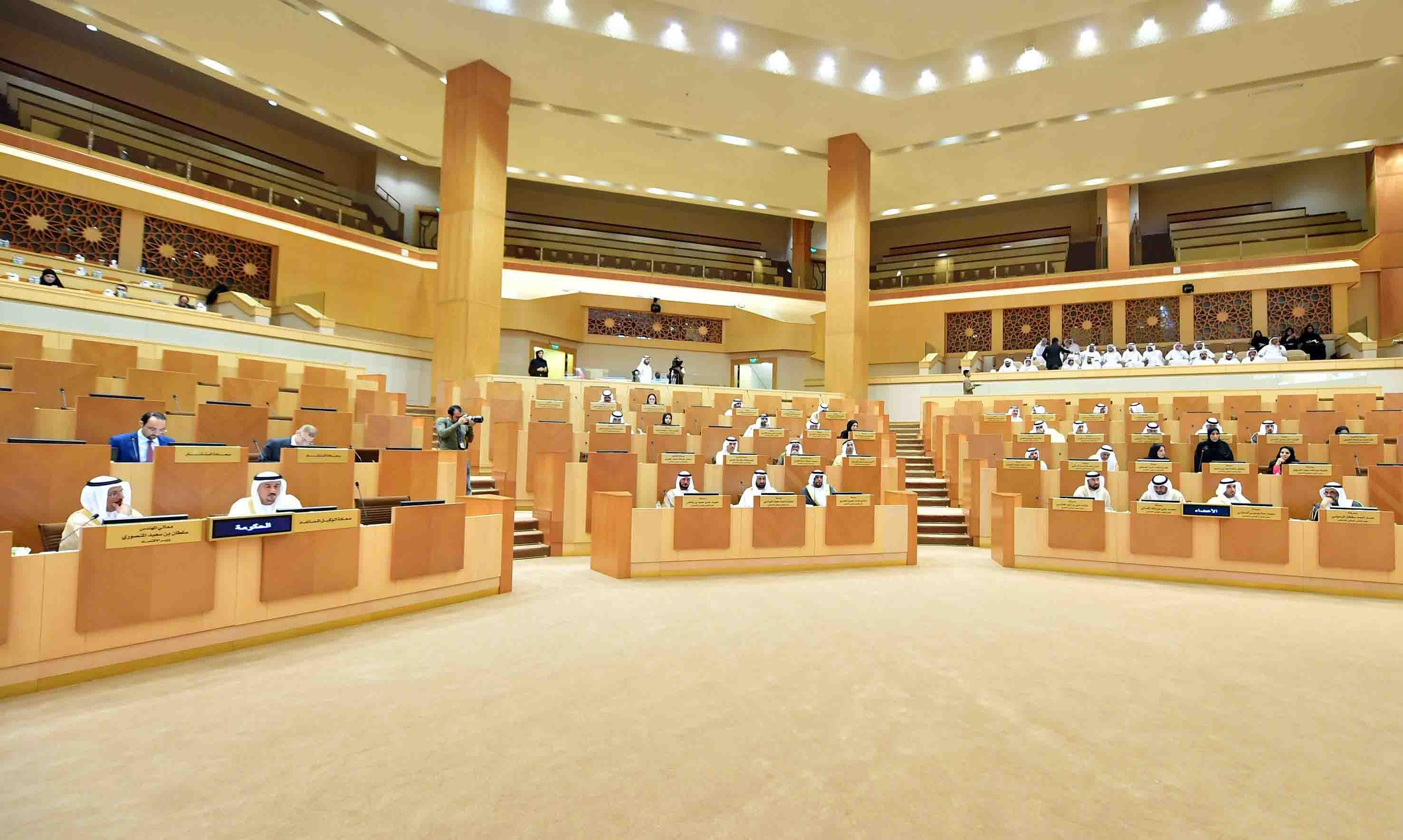 المجلس الوطني الاتحادي يقر مشروع قانون اتحادي بشأن التحكيم. 1