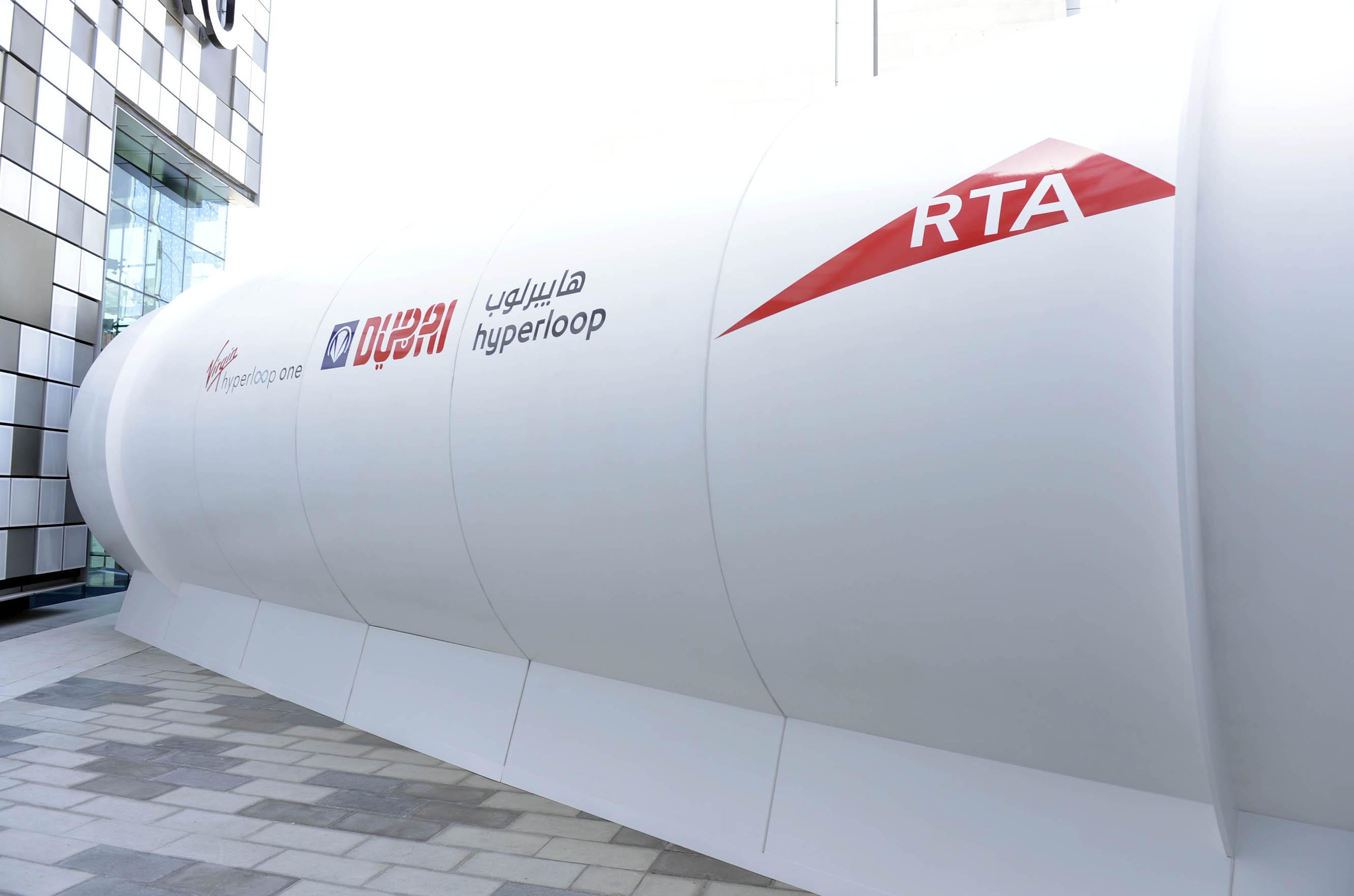 rta unveils hyperloop design prototype