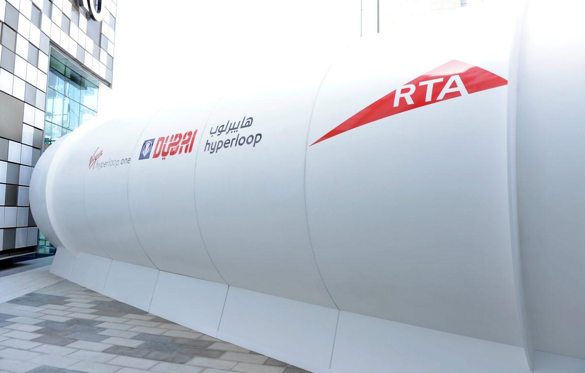 """"""" طرق دبي """" تكشف النقاب عن النموذج الأولي لتصميم الهايبرلوب في شهر الإمارات للابتكار. 3"""