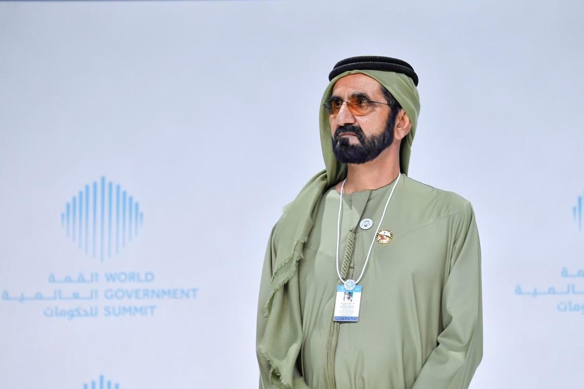 محمد بن راشد يكرم الفائزين بجوائز القمة العالمية للحكومات  بمشاركة سيف ومنصور بن زايد 4