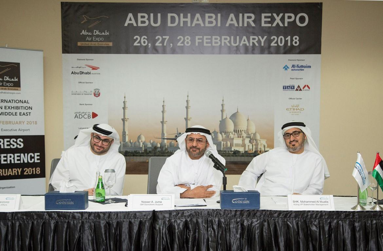 تحت رعاية هزاع بن زايد..معرض أبوظبي للطيران ينطلق في 26 فبراير. 2