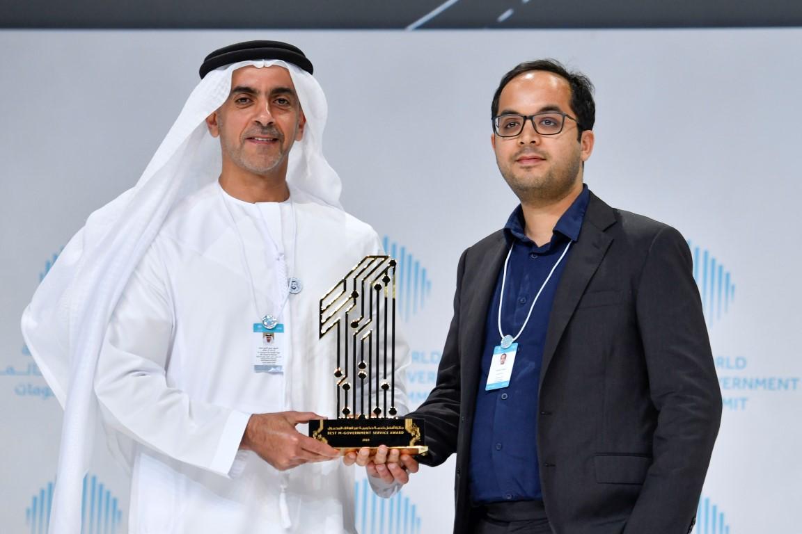 محمد بن راشد يكرم الفائزين بجوائز القمة العالمية للحكومات  بمشاركة سيف ومنصور بن زايد 2