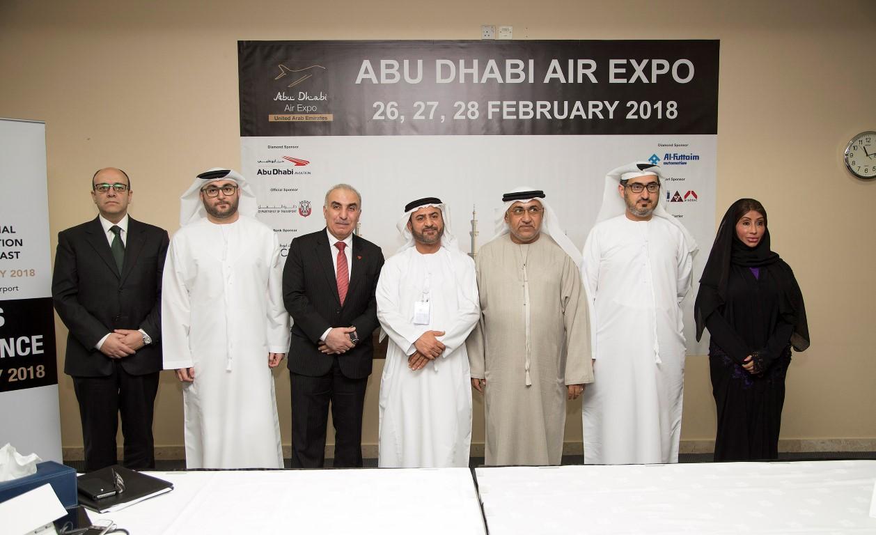 تحت رعاية هزاع بن زايد..معرض أبوظبي للطيران ينطلق في 26 فبراير. 1