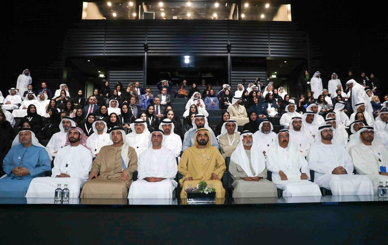 محمد بن راشد يوجه بتأسيس صندوق التنمية الثقافية وإطلاق مؤشر مساهمة الصناعات الإبداعية 4