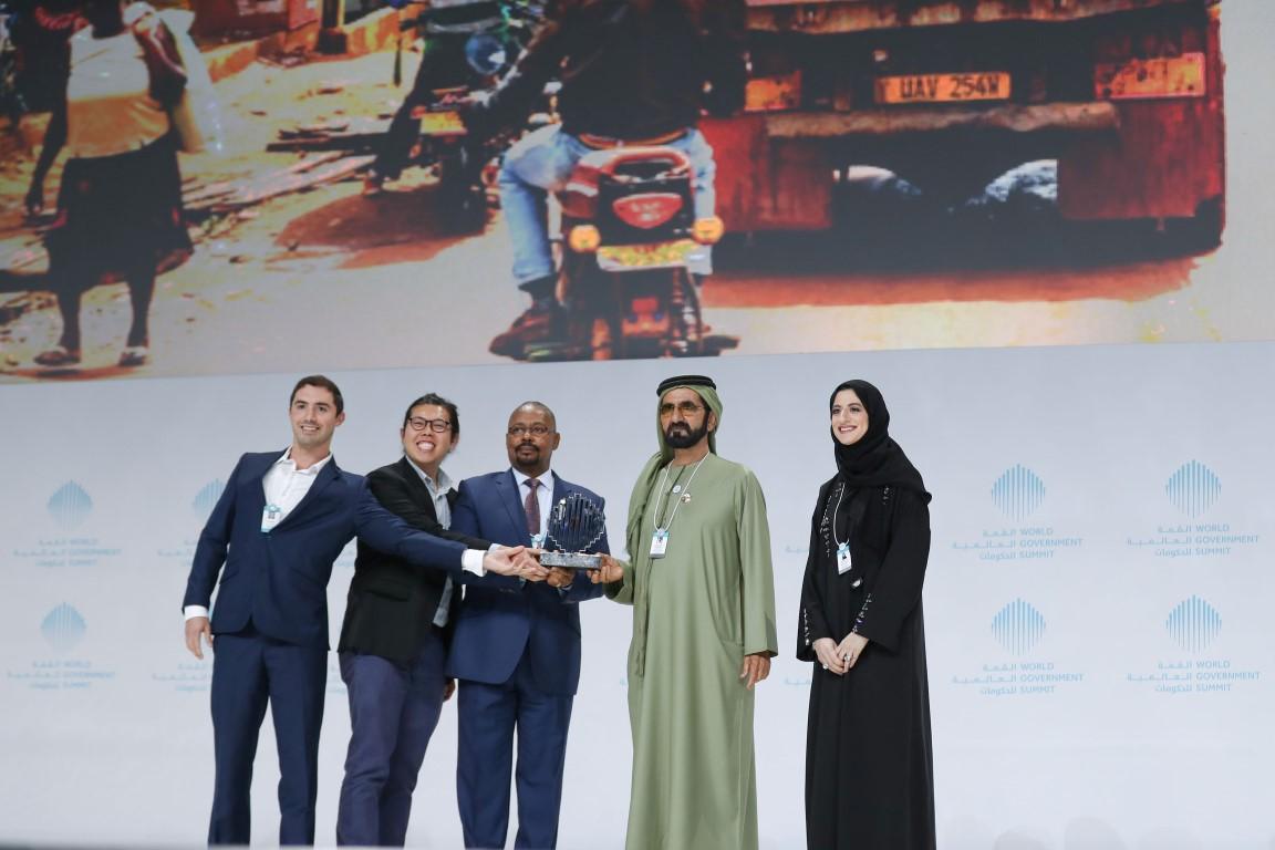 محمد بن راشد يكرم الفائزين بجوائز القمة العالمية للحكومات  بمشاركة سيف ومنصور بن زايد 10