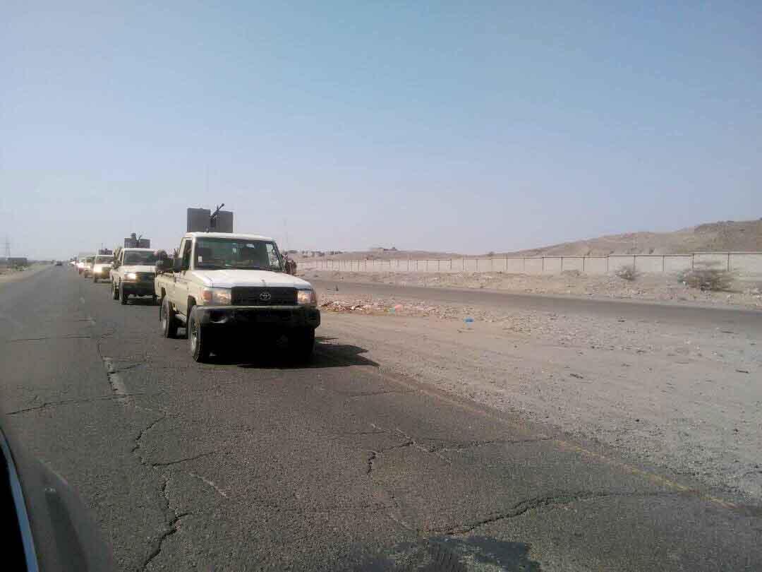 بدعم من التحالف العربي .. قوات الحزام الأمني تبدأ عملها بمحافظة الضالع اليمنية 1