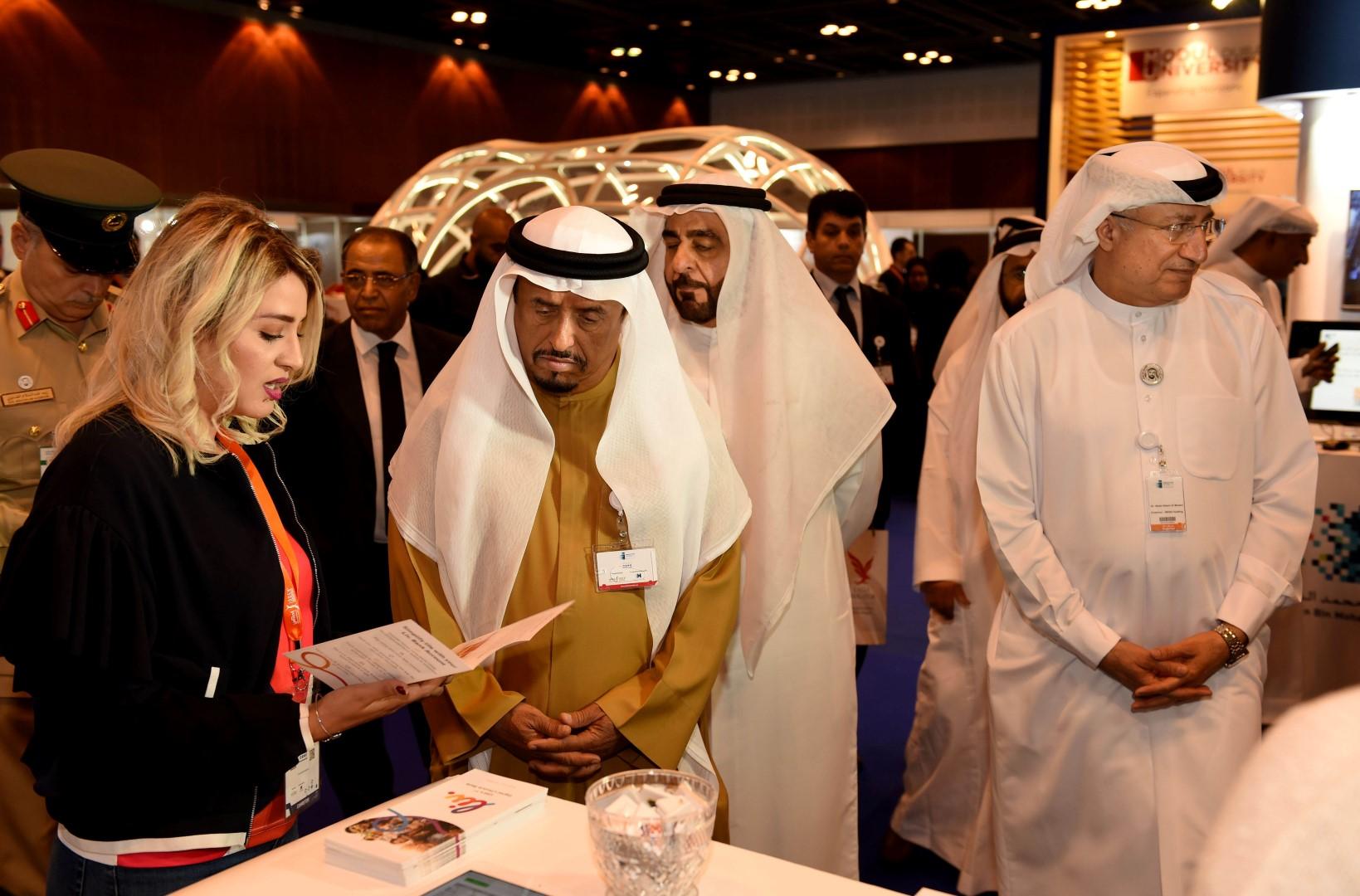 """افتتاح فعاليات اليوم الأول من """" مؤتمر ومعرض ابداعات عربية 11 """" 2"""