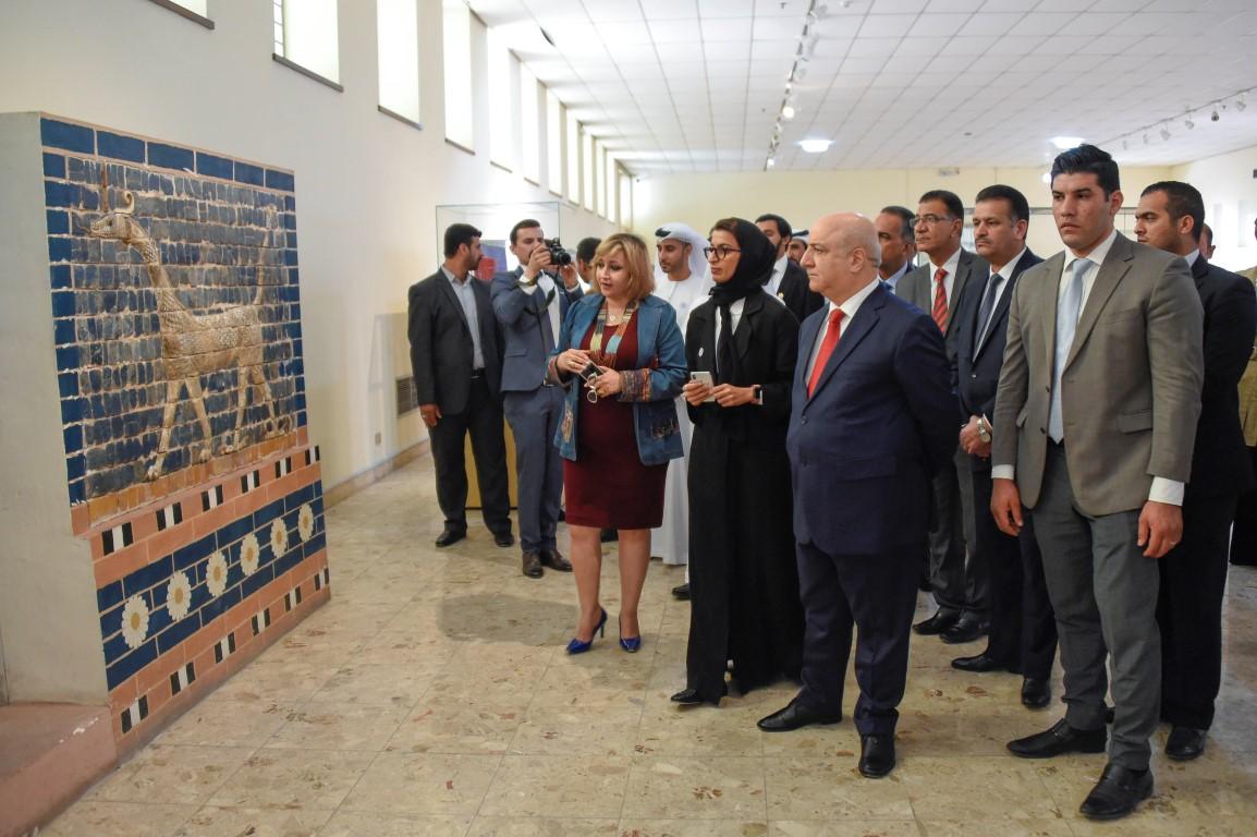 الامارات والعراق تتفقان على إطلاق مشروع إعادة بناء مسجد النوري  الكبير ومئذنته الحدباء بالموصل /3/ /Medium/