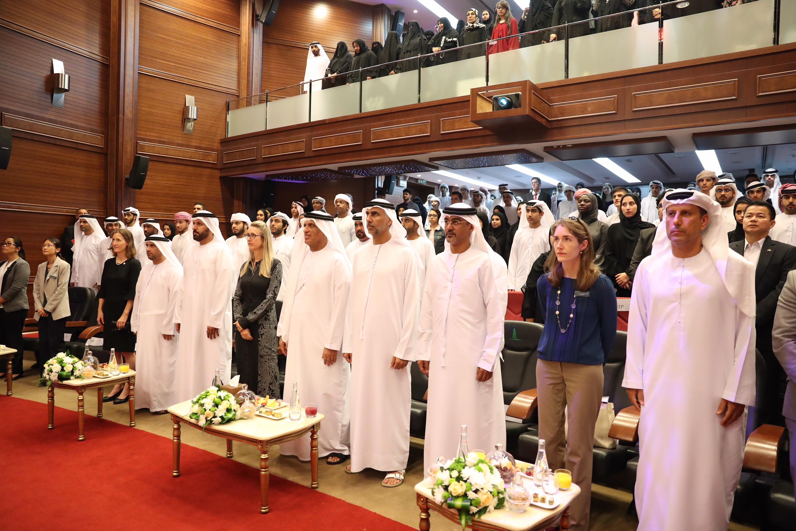 حاكم رأس الخيمة يكرم 70 طالبا وطالبة من برامج مؤسسة الشيخ سعود  بن صقر لبحوث السياسة العامة 1