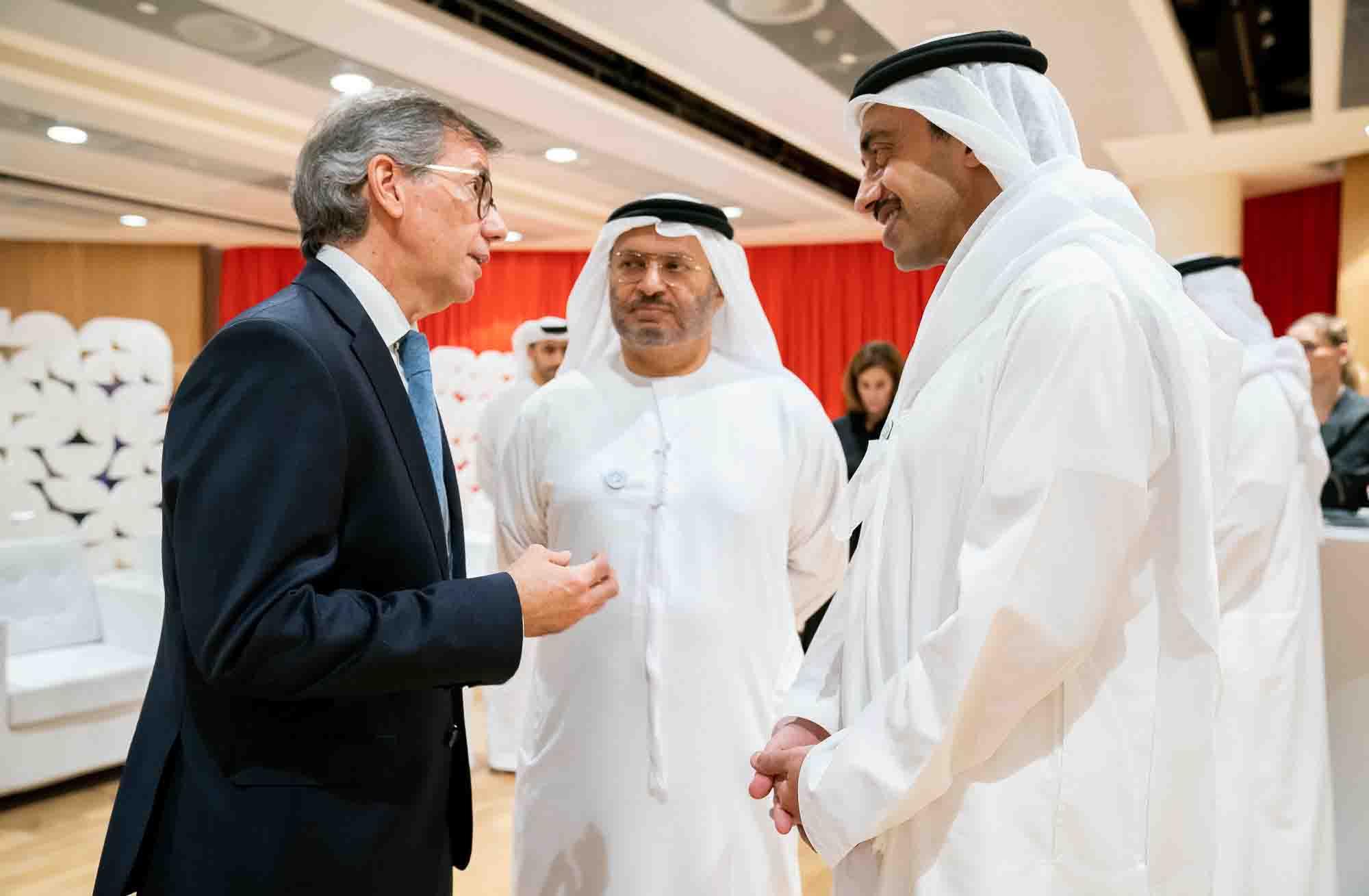 عبدالله بن زايد يشهد تخريج الدفعة الخامسة من جامعة نيويورك - أبوظبي 2